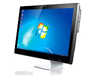 "Meteorit 23,6""-All-in-One Barebone-PC ""XIO-23"" 2-Kern-CPU, FullHD (refurbished); Android-Netbooks"